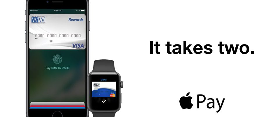 Apple Pay Now Here for WWFCU Visa Featured Image