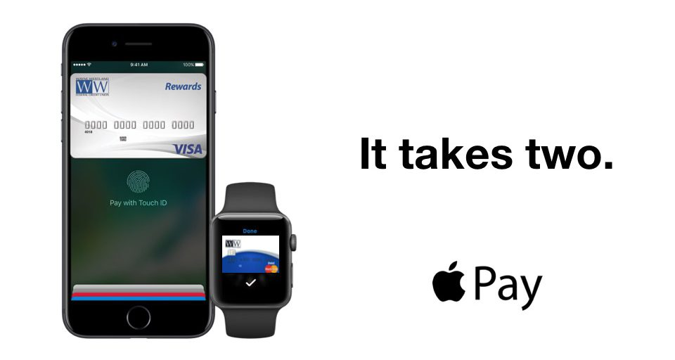 Apple Pay Now Here for WWFCU Visa Preview Image
