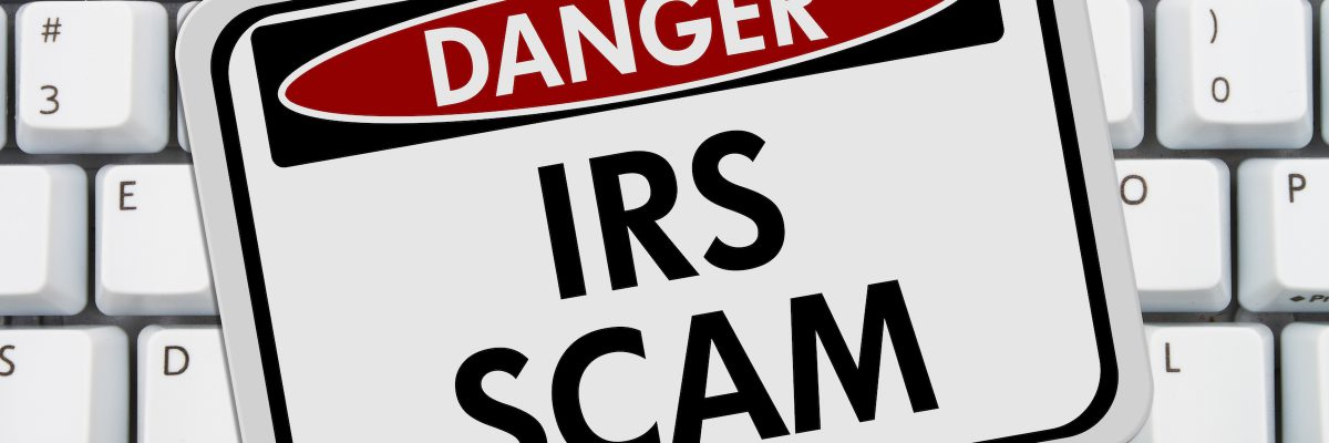 Beware of IRS Tax Scams Featured Image