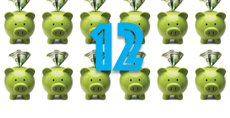 Twelve Easy Ways to Save Money Featured Image