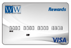 visa rewards credit card